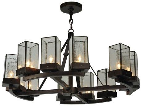 Meyda Tiffany Parker 12-Light 36 Wide Grand Chandelier