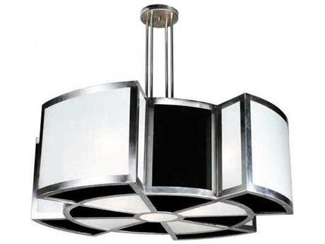 Meyda Tiffany Targette Eight-Light Pendant Light