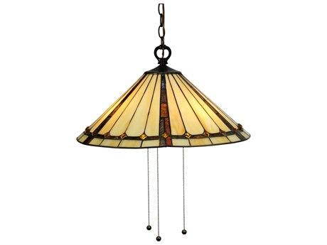 Meyda Tiffany Belvidere Three-Light Pendant MY130744