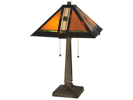 Meyda Tiffany Montana Mission Multi-Color Table Lamp MY119654