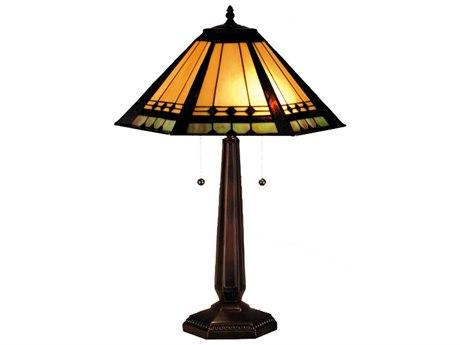 Meyda Tiffany Albuquerque Multi-Color Table Lamp