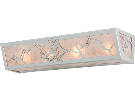 Meyda Tiffany Skier Four-Light Vanity Light MY14377