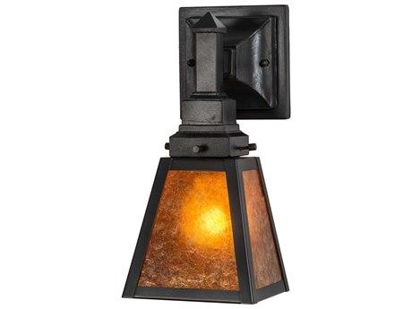 Meyda Mission Oil Rubbed Bronze 1-light Vanity Light MY216444