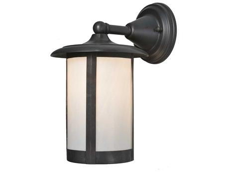 Meyda Tiffany Fulton Solid Mount Outdoor Wall Light