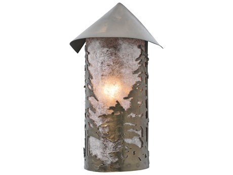 Meyda Tiffany Tall Pines Outdoor Wall Light