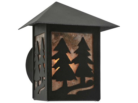 Meyda Tiffany Seneca Tall Pines Outdoor Wall Light