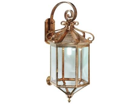 Meyda Tiffany Anza Lantern Outdoor Wall Light MY122800