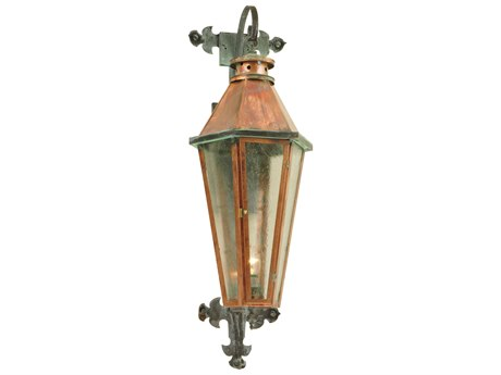 Meyda Tiffany Millesime Photocell Lantern Outdoor Wall Light MY129569