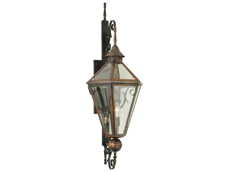 Meyda Tiffany Millesime Clear Lantern Outdoor Wall Light MY139836
