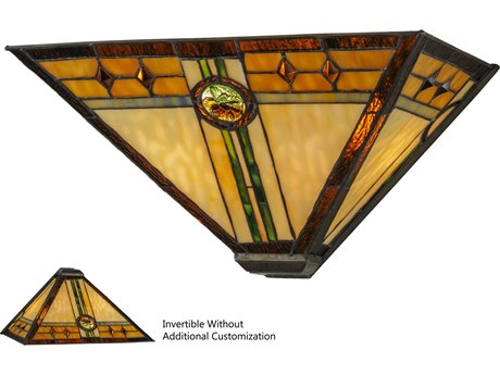 Meyda Tiffany Carlsbad Mission Two-Light Wall Sconce MY146985