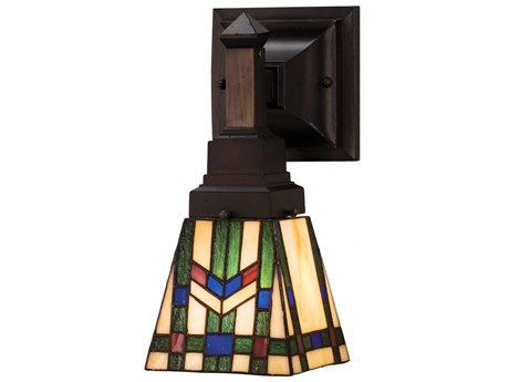 Meyda Tiffany Prairie Wheat Wall Sconce MY25894