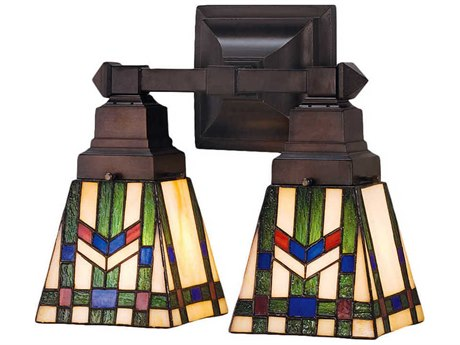 Meyda Tiffany Prairie Wheat Two-Light Wall Sconce MY31247