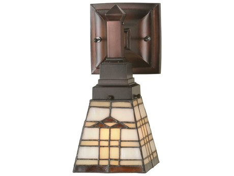 Meyda Tiffany Arrowhead Mission Wall Sconce MY98201