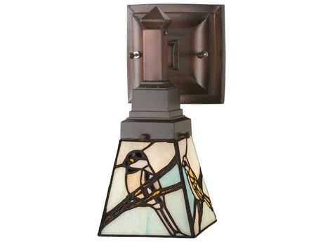 Meyda Tiffany Early Morning Visitors Wall Sconce MY98530