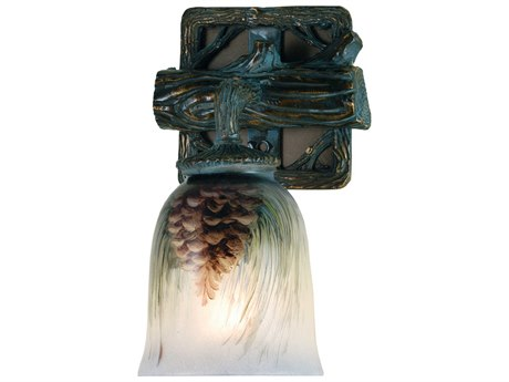 Meyda Lighting Northwoods Pinecone 6'' Wide Wall Sconce MY49517