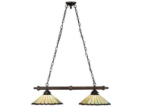 Meyda Tiffany Caprice Two-Light Island Light MY81968
