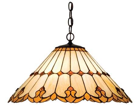 Meyda Tiffany Nouveau Cone Three-Light Pendant MY17580