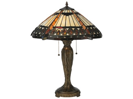 Meyda Tiffany Cleopatra Multi-Color Table Lamp MY119679