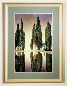 Meyda Tiffany Maxfield Parrish Reservoir Framed Wall Art