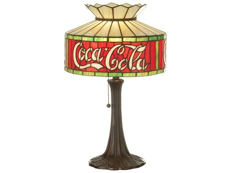 Meyda Tiffany Coca-Cola Multi-Color Accent Table Lamp MY74066