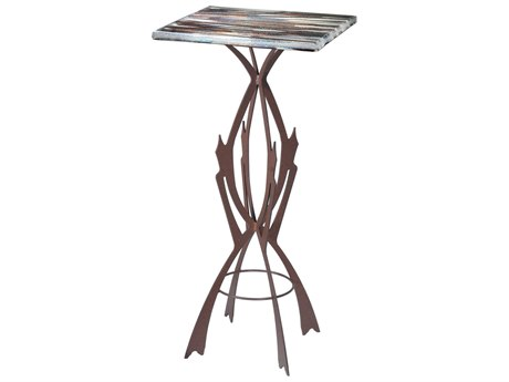 Meyda Tiffany 19.75 Square Marina Fused Glass Table MY108003