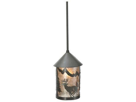 Meyda Tiffany Lone Deer Outdoor Hanging Light