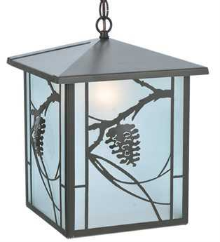 Meyda Tiffany Whispering Pines Outdoor Hanging Light