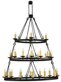 Meyda Tiffany Kenosha Oblong 3 Tier 28-Light Grand Chandelier MY132123