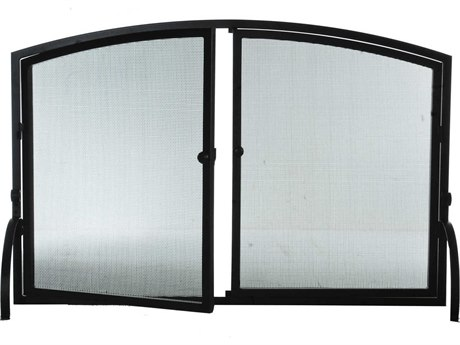 Meyda Tiffany Simple Operable Door Arched Fireplace Screen