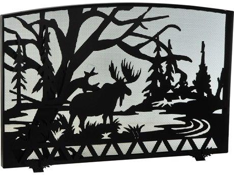 Meyda Tiffany Moose Creek Fireplace Screen