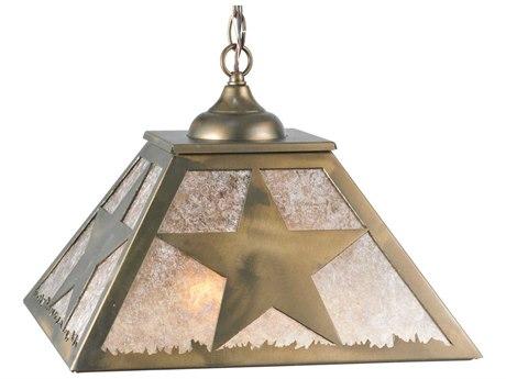 Meyda Tiffany Texas Star Two-Light Pendant Light MY109564