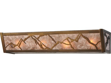 Meyda Tiffany Mountains Four-Light Vanity Light MY142744