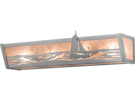 Meyda Tiffany Sail Boat Four-Light Vanity Light MY14368