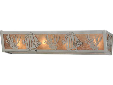 Meyda Tiffany Tropical Fish Four-Light Vanity Light MY14387