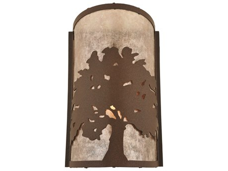Meyda Tiffany Oak Tree Wall Sconce MY118535