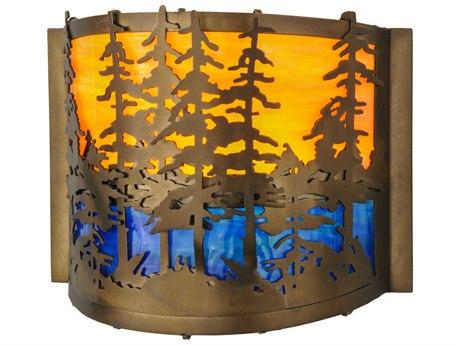Meyda Tiffany Tall Pines Wall Sconce MY146953