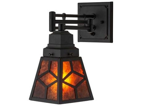 Meyda Glass Swing Arm Light MY180314