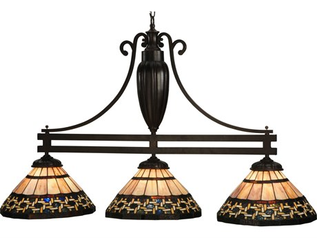 Meyda Tiffany Ilona Three-Light Island Light MY125111