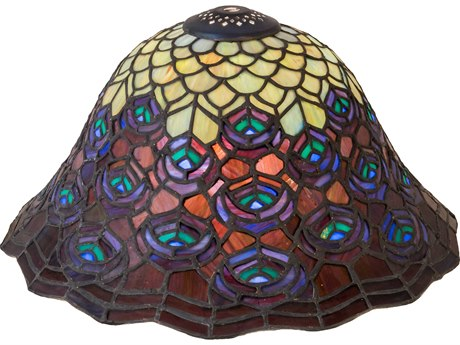 Meyda Tiffany Peacock Feather Shade