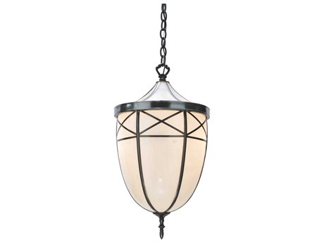 Meyda Tiffany Borough Hall Two-Light Pendant Light