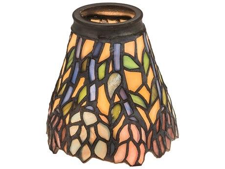 Meyda Tiffany Wisteria Fan Light Shade MY27476