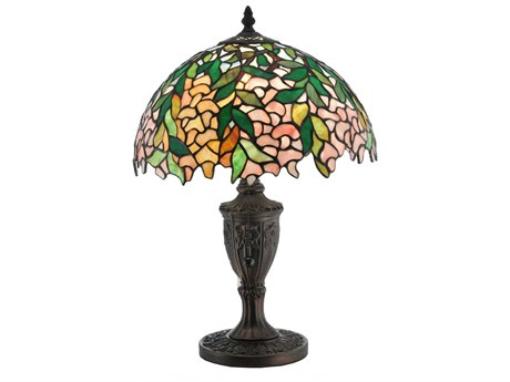 Meyda Tiffany Laburnum Multi-Color Accent Table Lamp