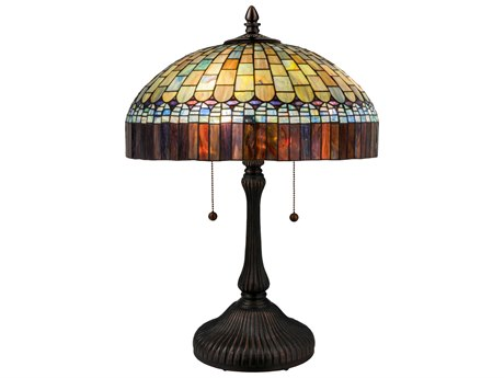 Meyda Tiffany Candice Multi-Color Table Lamp MY26322