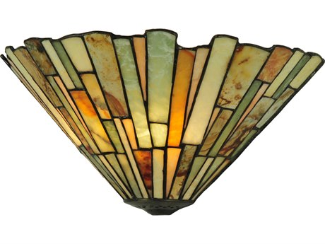 Meyda Tiffany Jadestone Delta Two-Light Wall Sconce