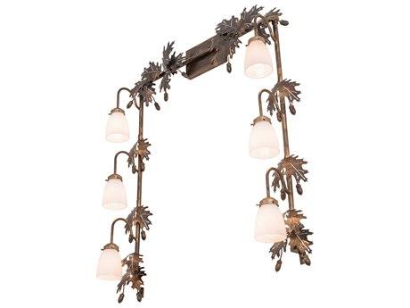 Meyda Glass Rustic Lodge Vanity Light MY191400