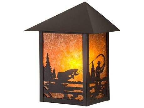 Meyda Glass Rustic Lodge Vanity Light MY38025