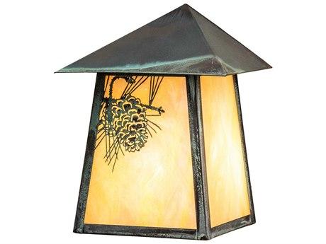 Meyda Glass Rustic Lodge Vanity Light MY38972