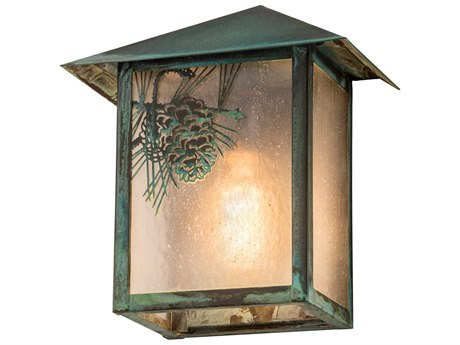 Meyda Glass Rustic Lodge Vanity Light MY41248