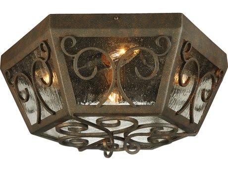 Meyda Tiffany Camilla Four-Light Outdoor Ceiling lIght