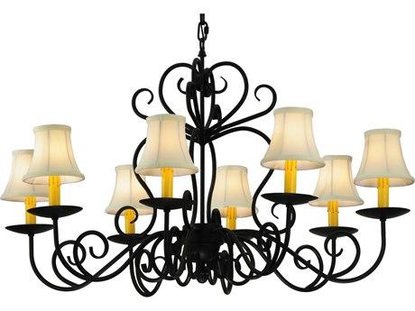Meyda Tiffany Corrina Eight-Light 36 Wide Chandelier